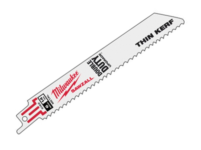 Milwaukee SAWZALL Metal Sabre Blade 150mm 14 tpi (5)
