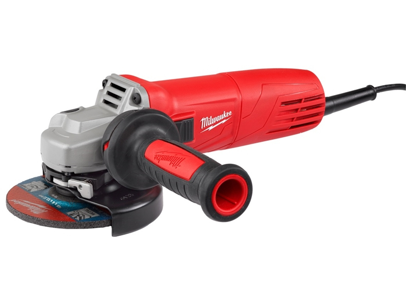 Milwaukee AGV10-115EK 115mm An gle Grinder 1000 Watt 240 Volt