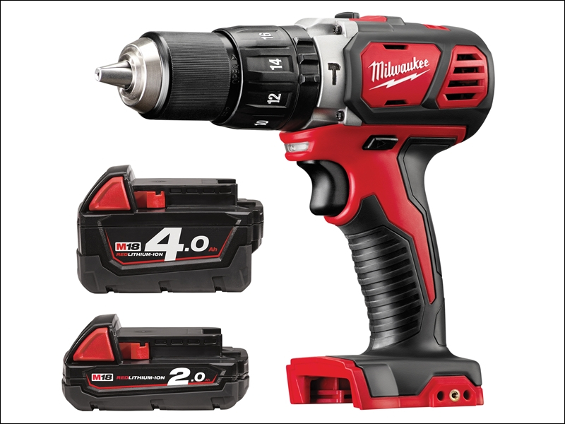 Milwaukee M18 BPD-42 Brushed C ombi Drill 18 Volt 1 x 4.0Ah &