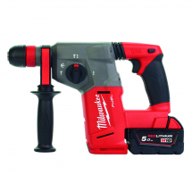 Milwaukee M18CHX-502 FUEL SDS+ Hammer 18 Volt 2 x 5.0Ah