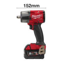 Milwaukee M18 FMTIW2F12-502X 1/2inch Compact Impact Wrench