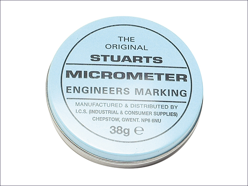 Tin of Micrometer Marking Blue