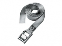 MasterLock Lashing Strap With Metal Buckle 2.5m 2 Piece