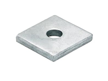 M8 Square Channel Washer 40mm x 40mm