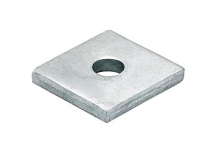 M12 Square Channel Washer 40mm x 40mm