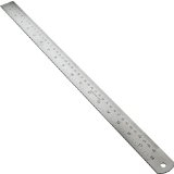 PEC Steel Rule 300mm/12inch 678-012 Rigid