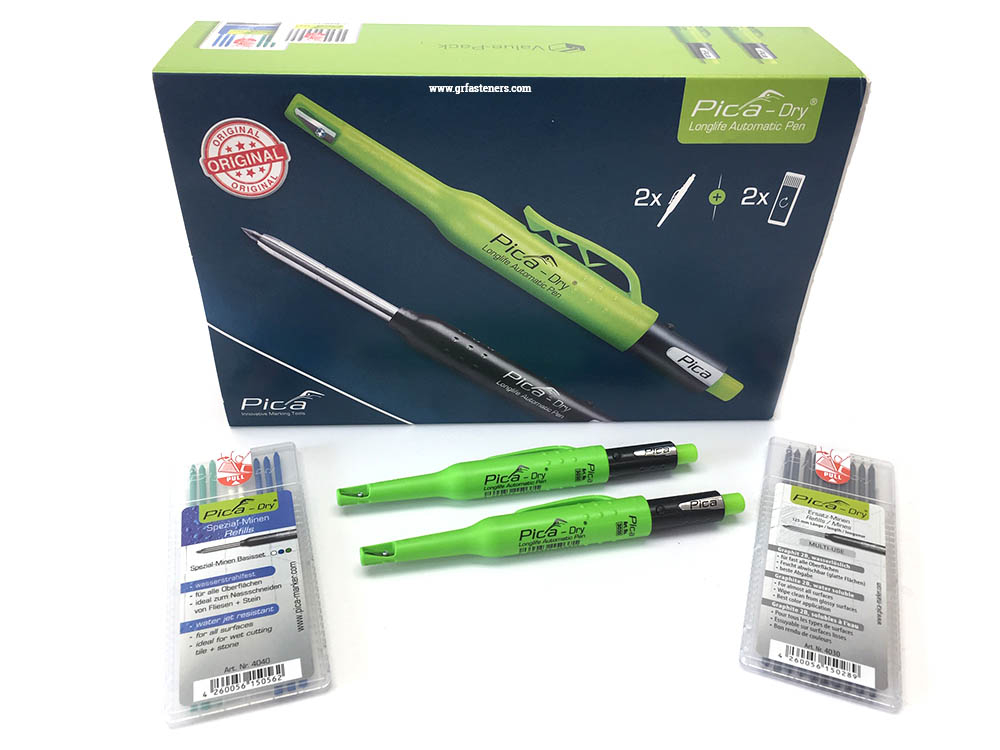 Graphite Refill Pack PICA3030 PICA4030 PICA Automatic Marking Pen Longlife