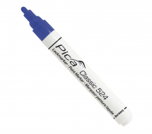 Pica 524/41 Pica Paint Marker Blue Round Tip 2-4mm