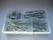 Assorted 'R' CLIPS Zinc Plated