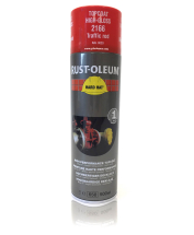 Rust-Oleum 2166 Traffic Red Spray Paint 500ml (RAL3020)