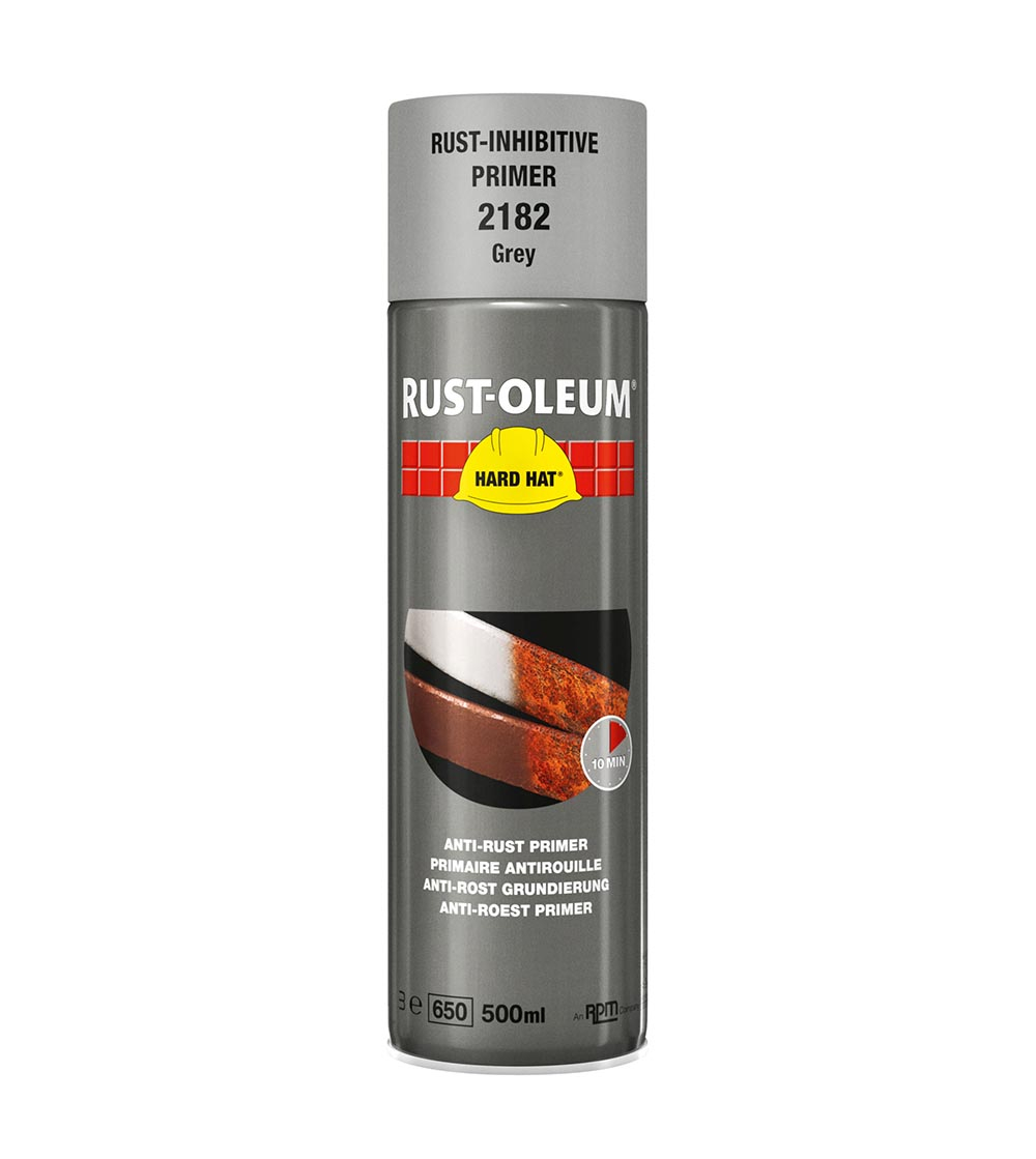 Rust-Oleum 2182 Grey Primer 500ml Aerosol