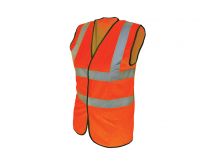 Scan Hi-Vis Waistcoat Orange - XL (48in)