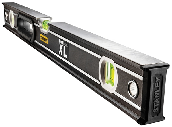 Stanley FatMax Pro Box Beam Spirit Level 3 Vial 180cm