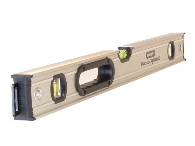 Stanley FatMax Pro Box Beam Spirit Level 3 Vial 200cm