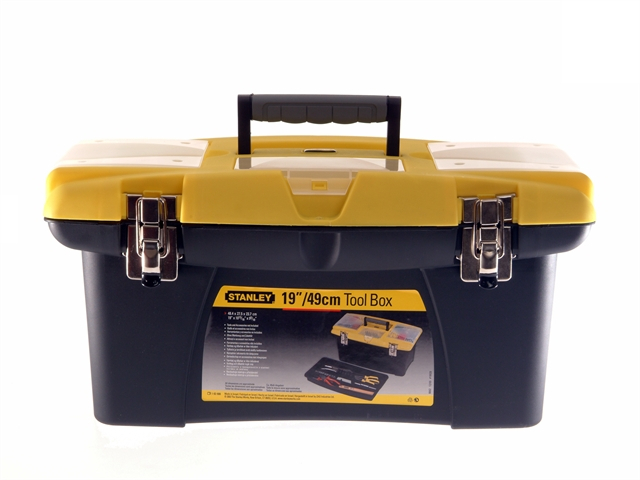 Stanley 192906 Jumbo Toolbox + Tray 50cm (19in)