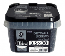 TIMco 3.5 x 38 Coarse Drywall Screw P2- Tub Of 1500