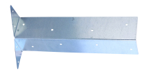 TIMco Arris Rail Bracket Pre-Galvanised 300mm