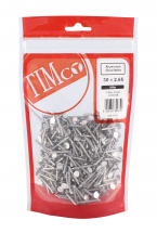 TIMco 30 x 2.65 Clout Nails - Aluminium 250g Bag