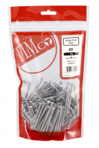 TIMco 65mm Oval Nails - Bright 1kg Bag