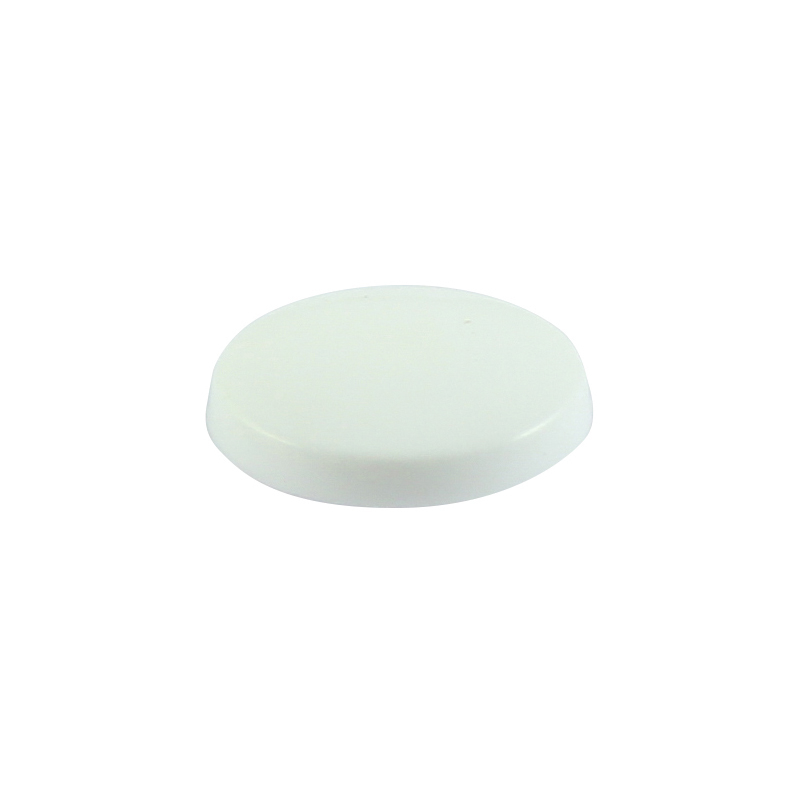 TIMco White Multi-Fix Screw Cover Cap Bag Of 100