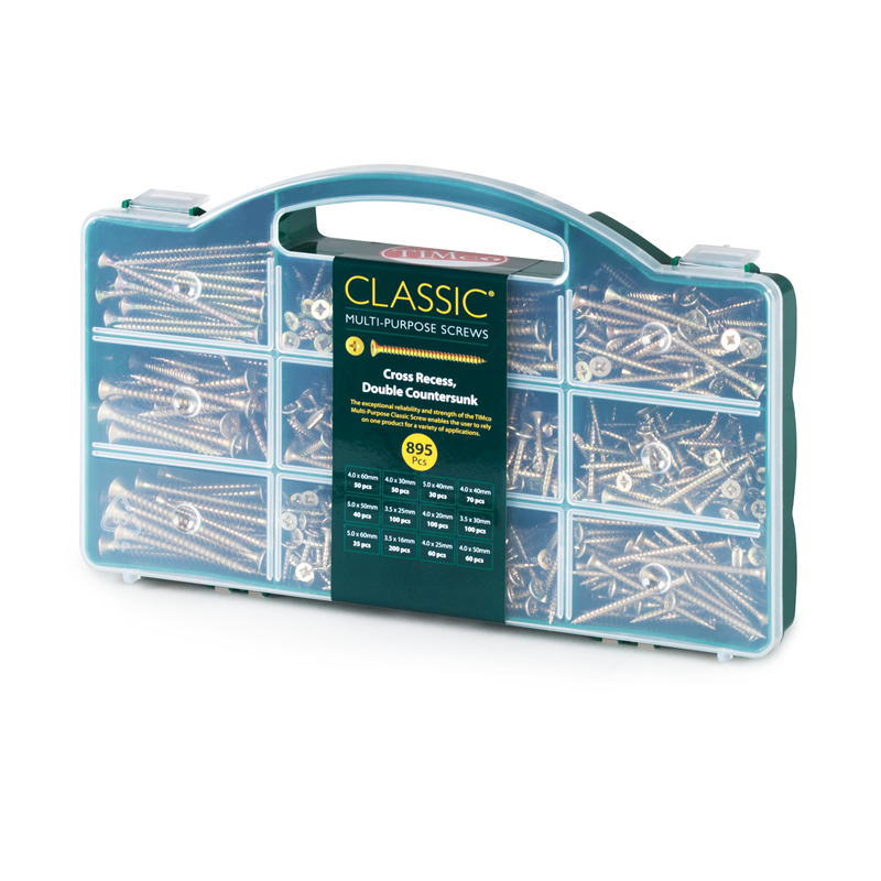 TIMco Classic Screw Mixed Tray