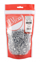 TIMco 40 x 2.65 Clout Nails - Galvanised 1kg Bag