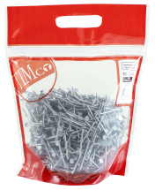 TIMco 50 x 2.65 Clout Nails - Galvanised 2.5 kg Bag