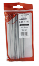 TIMco 150 x 6.00 Galvanised Round Wire Nails Bag Of 8