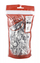 TIMco 65 x 3.35 Spring Head - Galvanised 1kg Bag