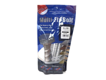 TIMco 12 x 150/M14 Multi-Fix Bolt Hex Head Bag Of 6