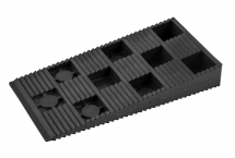 TIMco 90x45mm Plastic InterLocking Wedges Box Of 200