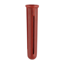 TIMco Red Plastic Plug Box Of 100