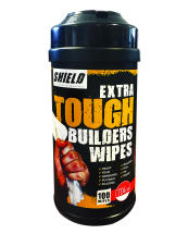 TIMco Tub Of 100 Wipes Shield Builders Wipes