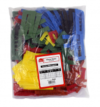 TIMco 1mm to 6mm Assorted Plastic Shims Bag Of 200