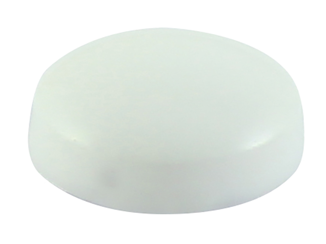 TIMco WHITE PlastiDome Screw Cap - WHITE Bag Of 100