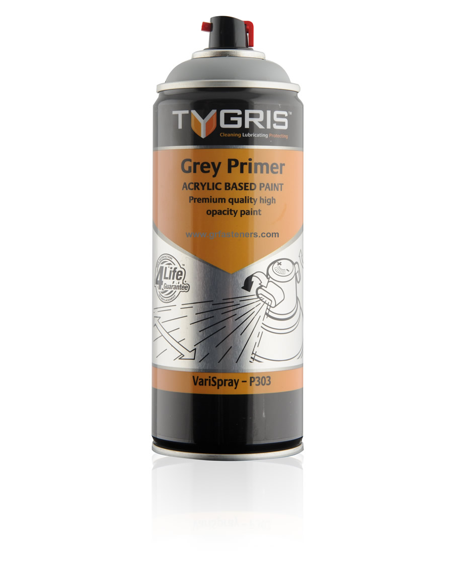 Tygris P303 Grey Primer Paint Varispray 400ml