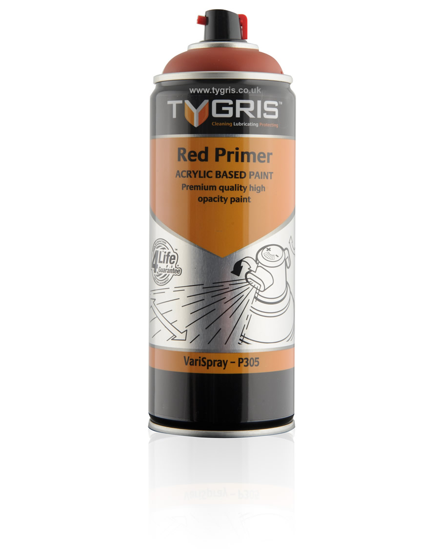 Tygris P305 Red Primer Paint Varispray 400ml