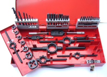 Volkel 49183 M3-M12 HSS Tap, Die And Drill Set