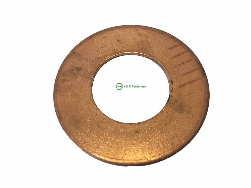 Copper Washer 90mm x 45mm x 3mm