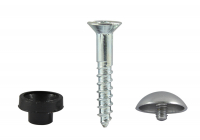 Mirror Screws Cups & Caps